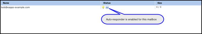 Auto-responder enabled