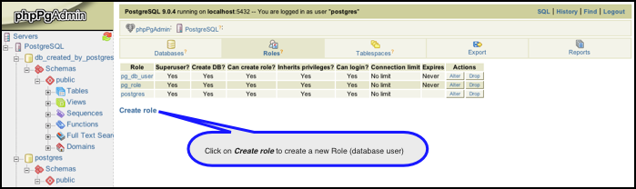 PostgreSQL 9 and phpPgAdmin - Powered by Kayako Help Desk