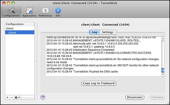 OpenVPN Client Configuration - Powered by Kayako Help Desk