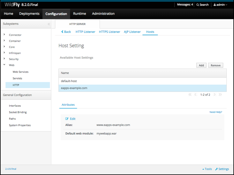 WildFly Application Deployment in Standalone mode - Powered