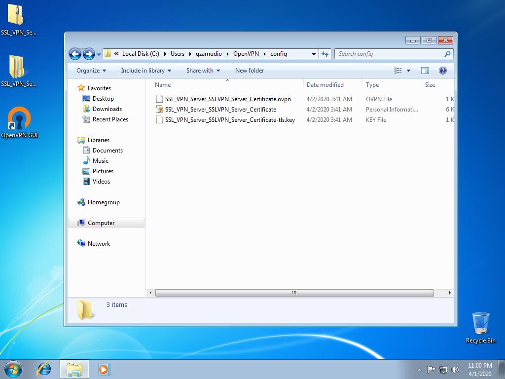 Windows VPN 1