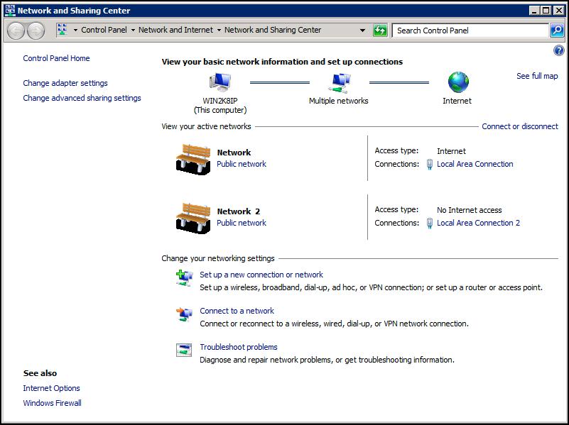 Windows Server 2008 - Adding additional IP addresses to your Windows