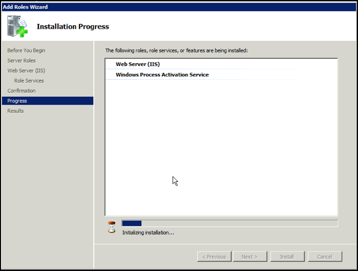 how to allow external access to iis web service