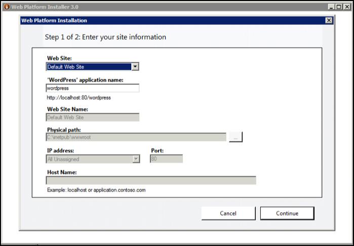 Windows Server 2008 - Using the Microsoft Web Platform Installer